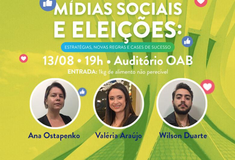 Mídias Sociais e eleições serão discutidas no dia 13, em Dourados
