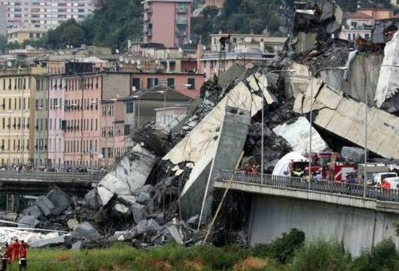 Termina operação de busca em Gênova e número de mortes com desmoronamento de ponte sobe para 43