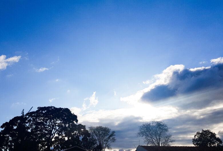 Após chuva prevista até quinta, sexta-feira será de retorno da massa de ar seco