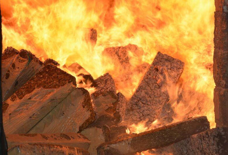 Defron incinera mais de 17 toneladas de drogas