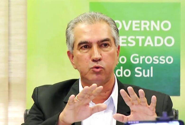 Pesquisa mostra Reinaldo Azambuja na liderança das intenções de voto