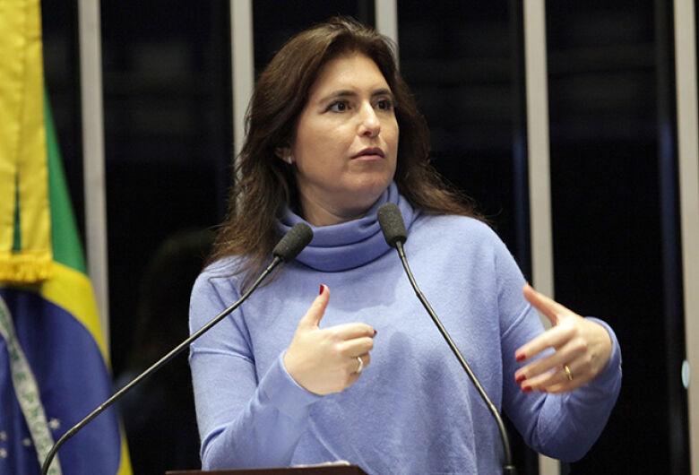 Simone Tebet desiste de concorrer ao governo de MS