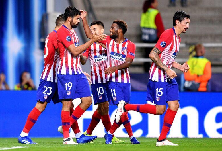 Atlético de Madrid quebra tabu contra o Real e conquista a Supercopa da Europa