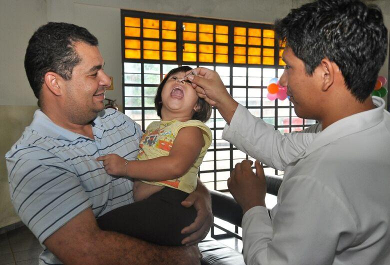 Campanha de vacinação contra pólio e sarampo termina no fim do mês