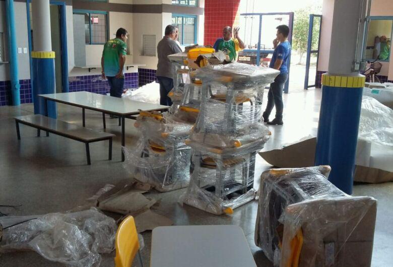 Ceim do Altos do Indaiá é equipado com móveis e eletrodomésticos