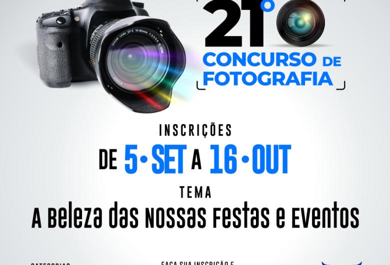 """Aced abre inscrições para Concurso de Fotografia com tema """"Festas e Eventos"""""""