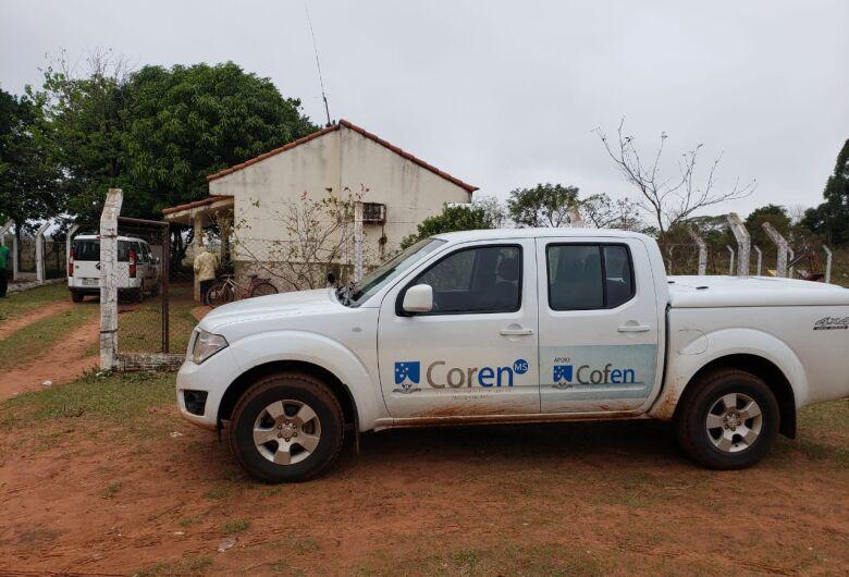 Força tarefa do Coren-MS fiscaliza postos de saúde em aldeias indígenas