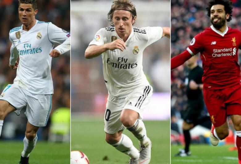 CR7, Salah e Modric são os finalistas do prêmio de Melhor do Mundo