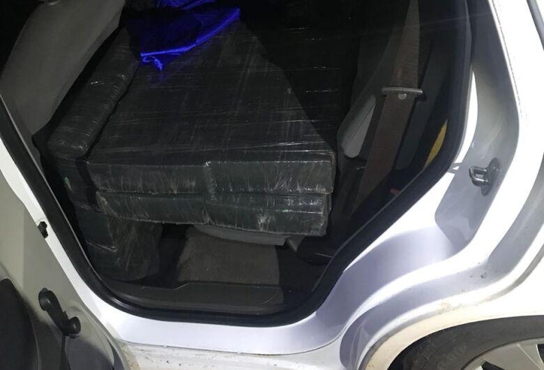 DOF recupera veículo roubado carregado com droga na MS-289