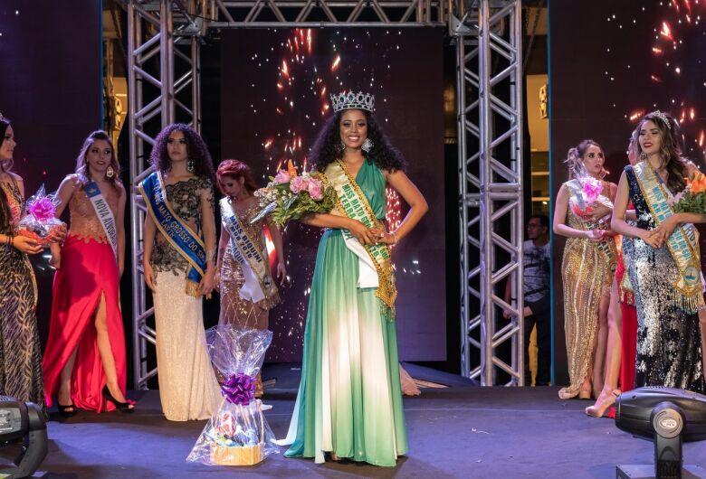 Corumbaense é grande campeã de concurso e levará nome do MS ao Miss Brasil Terra