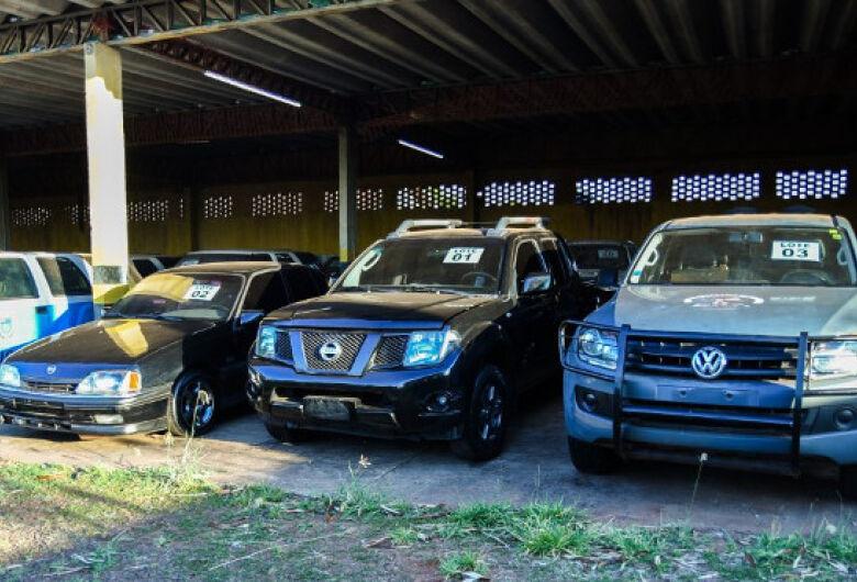 SAD promove hoje leilão com 130 lotes de veículos e sucatas