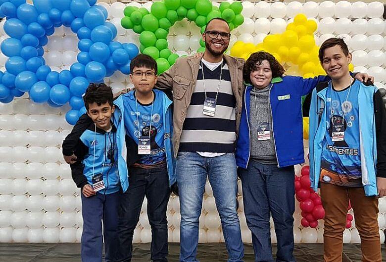 Equipe de Dourados vai representar MS na etapa nacional da Olimpíada Brasileira de Robótica