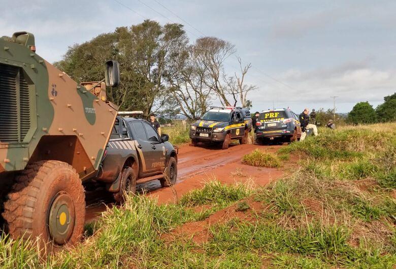 PRF, PF e Exército deflagram operação com emprego de 290 agentes no Conesul