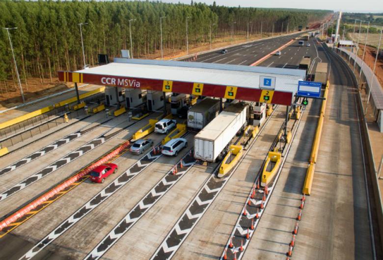 CCR MSVia aumenta preço do pedágio em 4 das 9 praças ao longo da BR-163, três na região sul