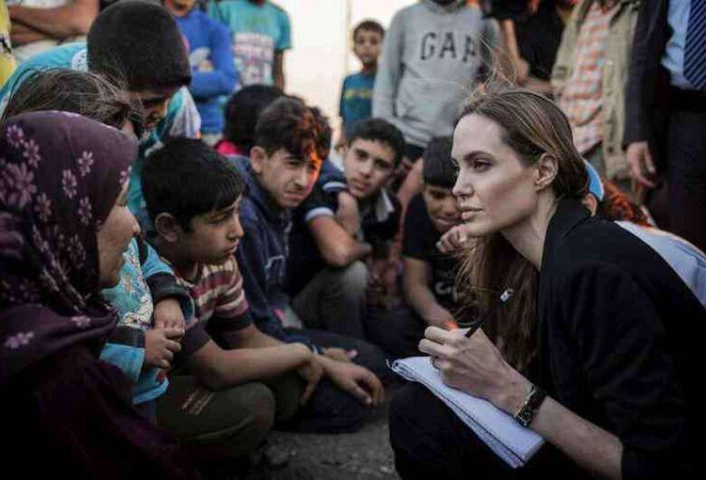 Em missão do Acnur, Angelina Jolie destaca força de imigrantes venezuelanos