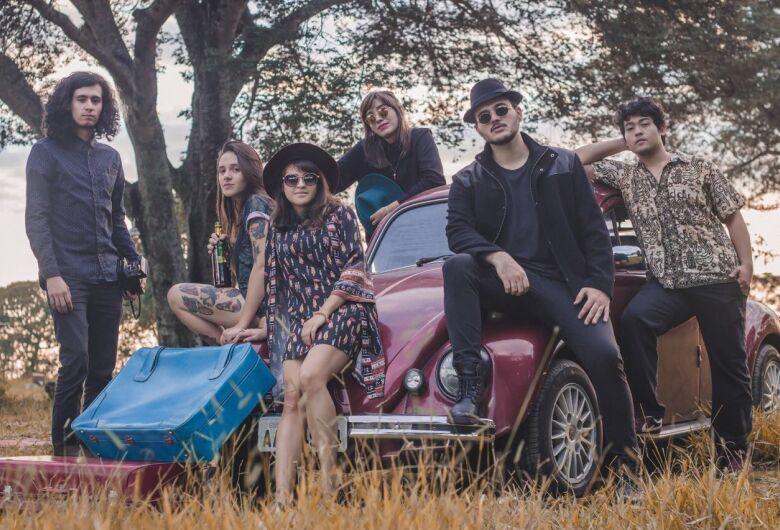 Banda Catarse Retrô faz show Dourados nesta sexta