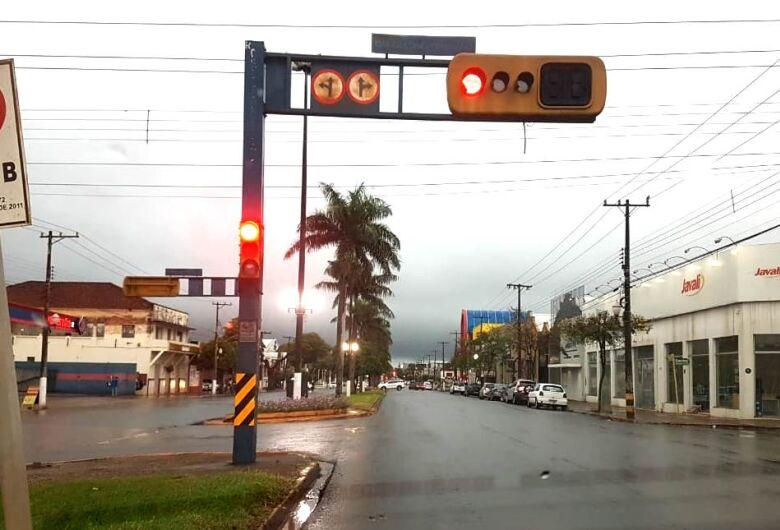 Dourados já registrou 40 milímetros de chuva nesta quarta-feira