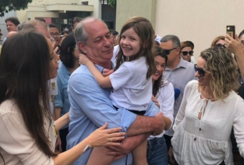 Ciro Gomes votou em Fortaleza