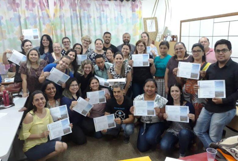 Profissionais da Educação participaram de curso Braile básico em Dourados
