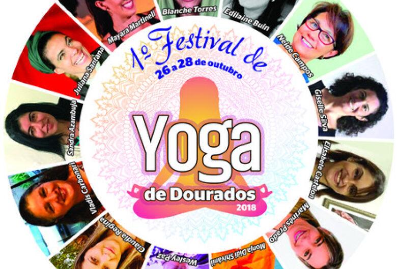 1º Festival de Yoga de Dourados será de 26 a 28 no Studio Blanche Torres