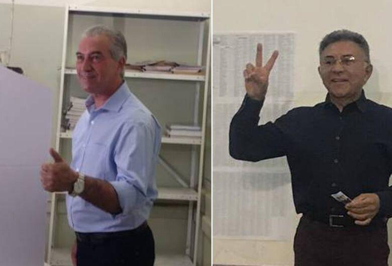 Mato Grosso do Sul terá segundo turno entre Reinaldo e Odilon