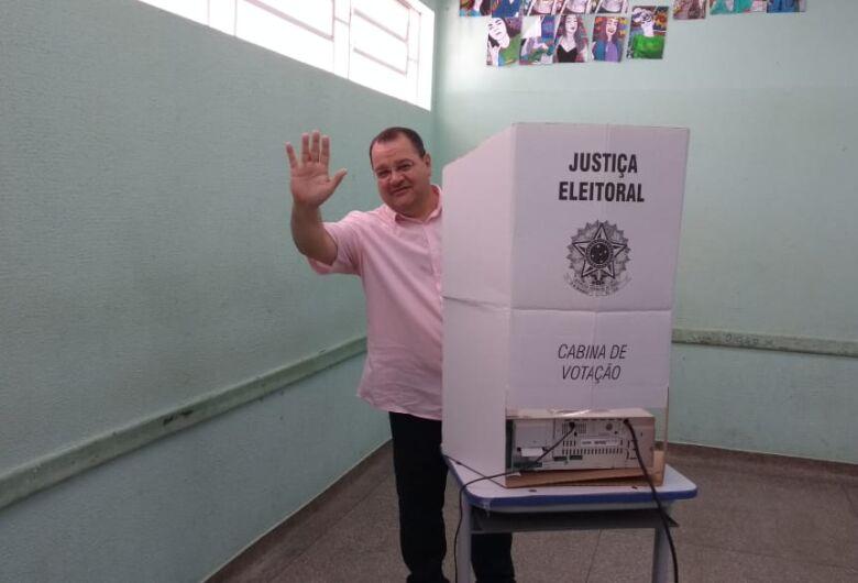 Cadidato a Governo do MS, João Alfredo do PSOL, votou em Ribas do Rio Pardo