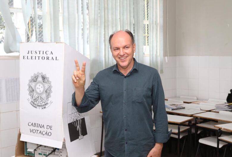 Confiante num segundo turno Junior Mochi se diz orgulhoso de uma campanha limpa