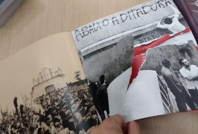 Livros de direitos humanos são rasgados em biblioteca da UnB