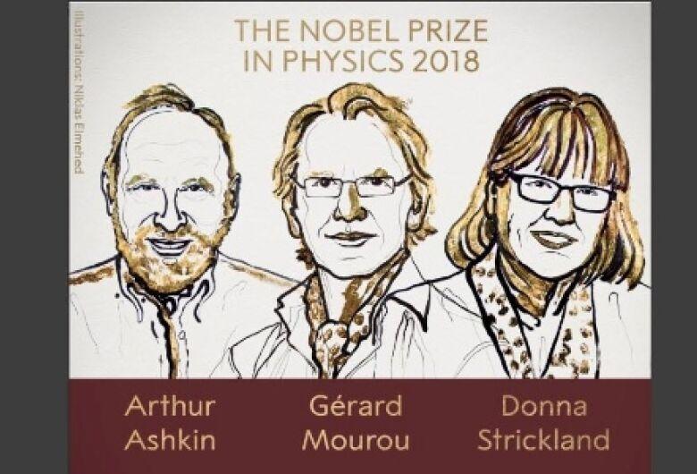 Inovações no uso do laser rendem Prêmio Nobel de Física a trio de cientistas