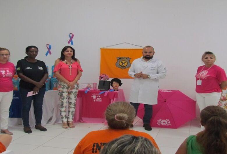 No mês de combate ao câncer de mama, Agepen realiza programação especial em presídios de MS