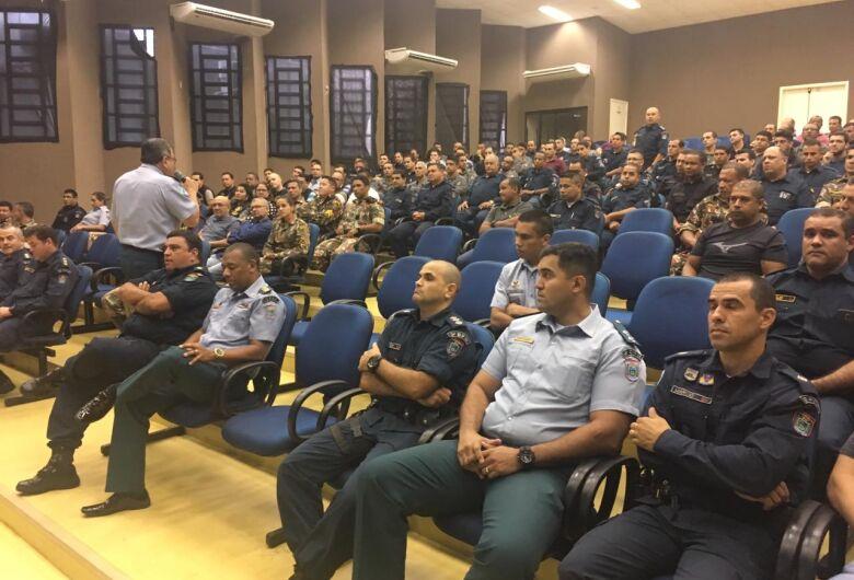 Em Dourados, comandante-geral da PM aponta queda nos índices de 8 dos 12 principais crimes