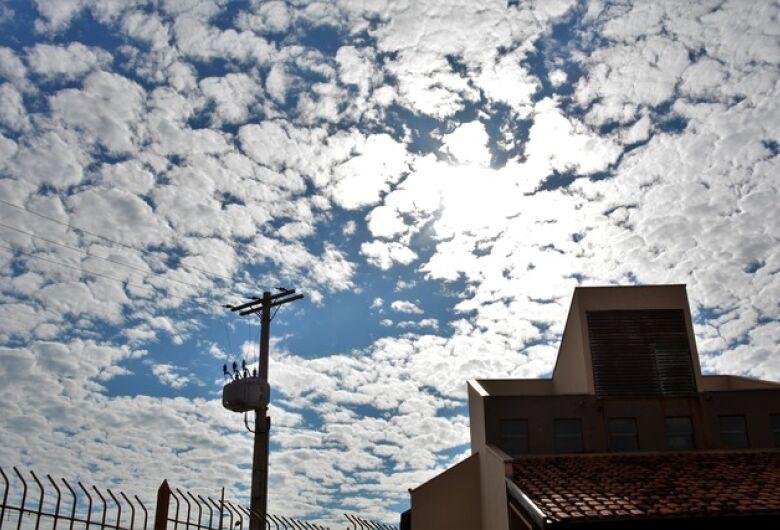 Previsão do tempo para o resto da semana é de calor, nuvens e muita chuva no sul do Estado