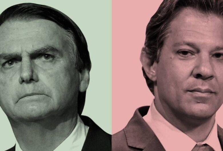 Jair Bolsonaro vs Haddad: presidente do Brasil será definido no segundo turno