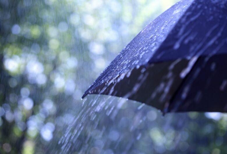 Feriadão será chuvoso em MS, segundo a previsão do tempo