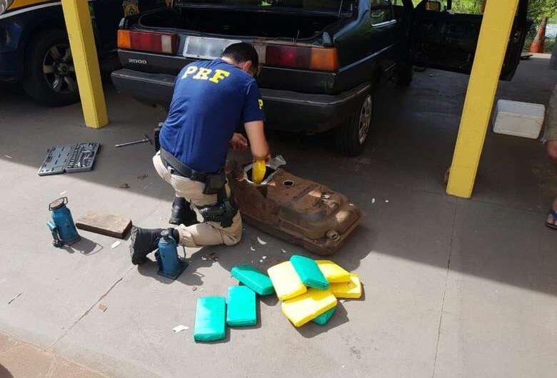 Mais 35kg de cocaína são apreendidos pela PRF