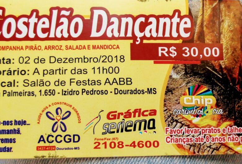 ACCGD promove Costelão Dançante no domingo na AABB