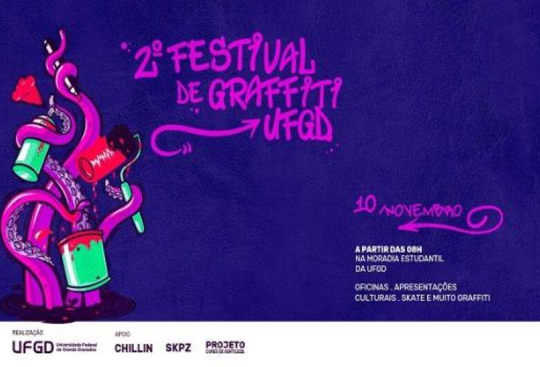II Festival de Graffiti acontece neste sábado na Moradia Estudantil