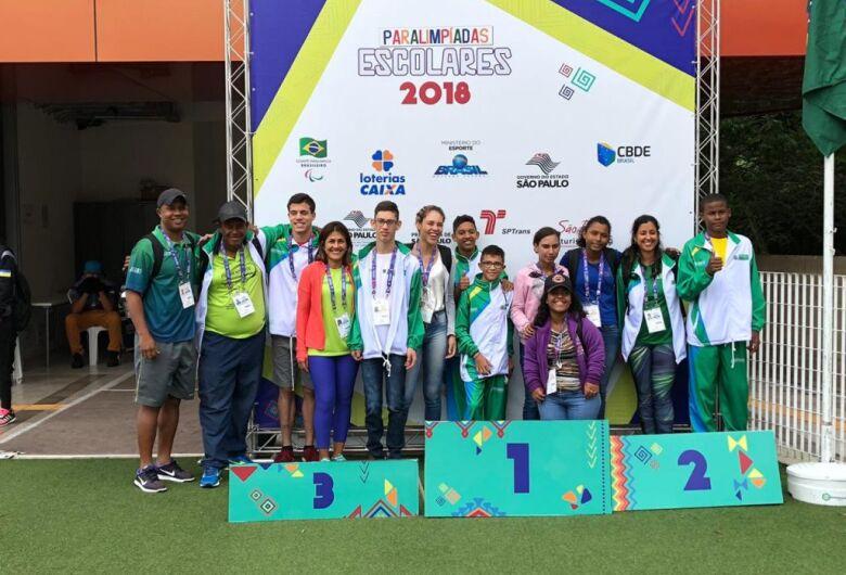 Com 76 medalhas, equipe de MS supera desempenho e conquista título inédito nas Paralimpíadas Escolares 2018