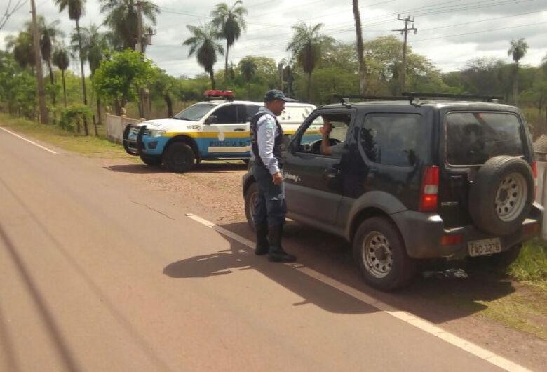 Durante feriado prolongado Polícia Militar Rodoviária abordou mais de três mil veículos