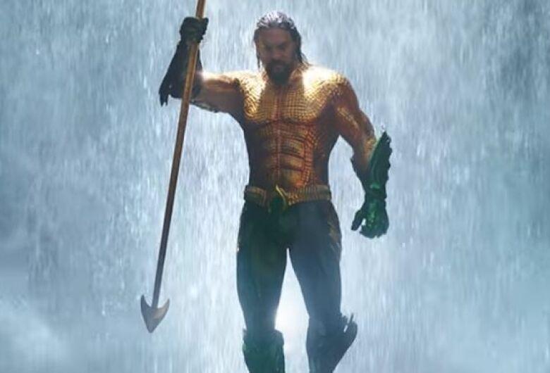 Aquaman é a estreia dessa semana no cinema de Dourados