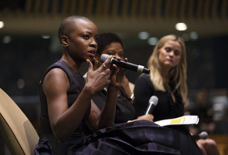 Estrela de 'Pantera Negra' é nomeada embaixadora da ONU Mulheres