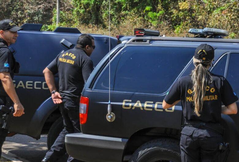 Gaeco prende duas pessoas em Dourados em operação contra facções criminosas