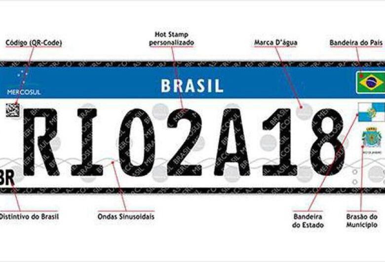 Detran-MS solicita prorrogação por 60 dias para prazo de implantação da Placa Mercosul
