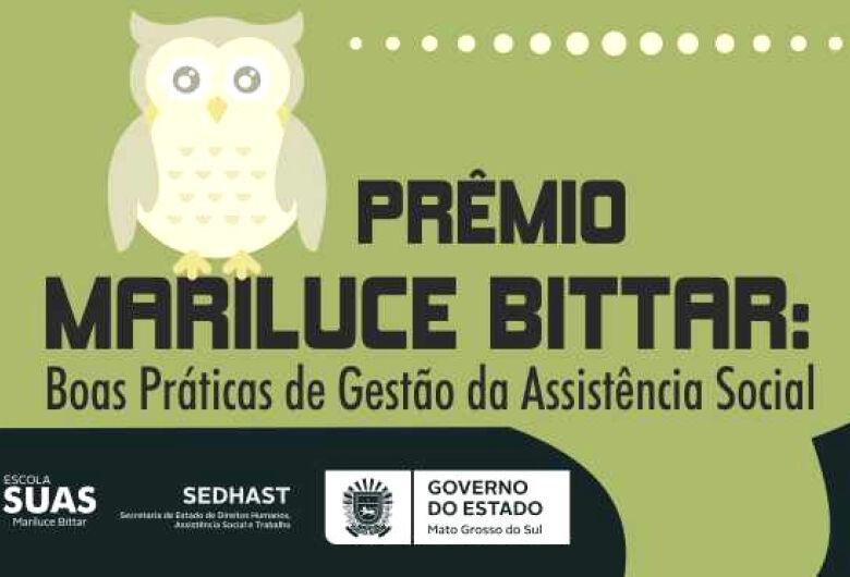 Estado vai premiar municípios finalistas do prêmio Mariluce Bittar