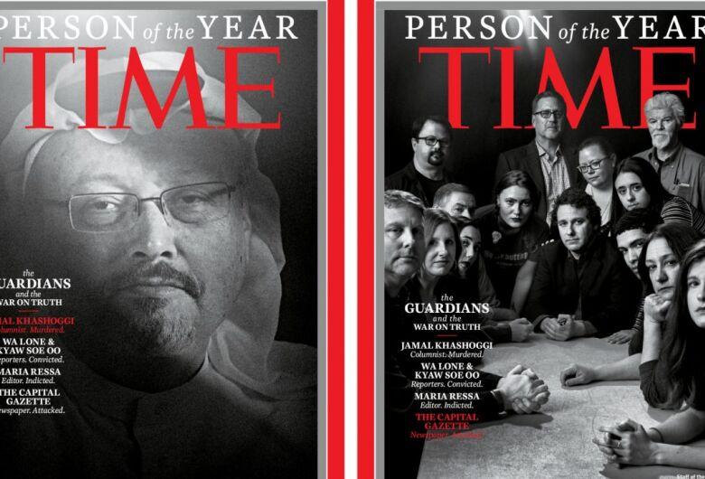 """""""Time"""" reconhece Khashoggi e outros jornalistas como """"Pessoa do Ano"""""""