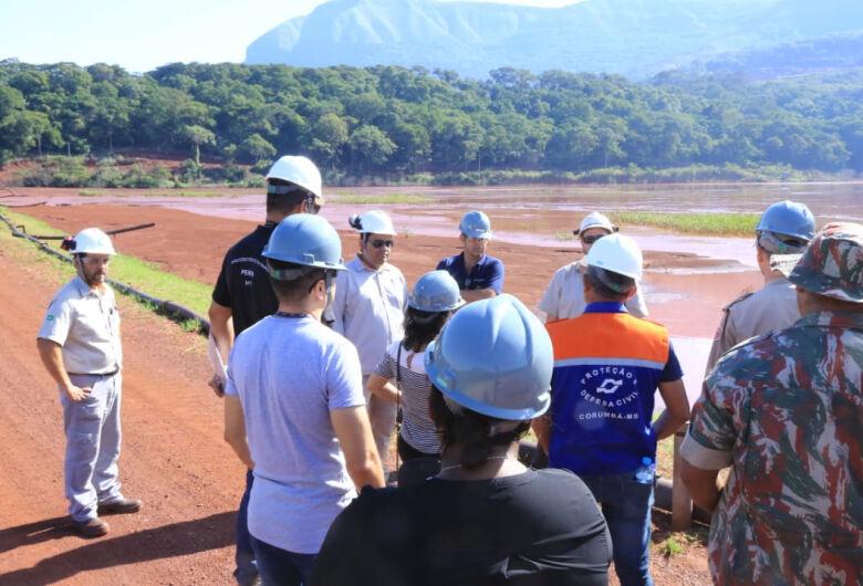 Visita técnica encontra irregularidade em barragem, mas laudo técnico sai em 15 dias