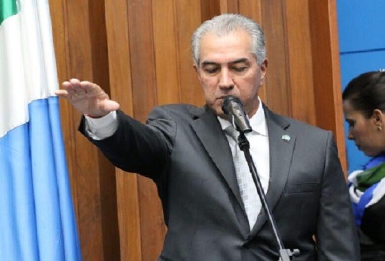 Empossado para o segundo mandato, Reinaldo Azambuja aposta em alinhamento com Governo Federal