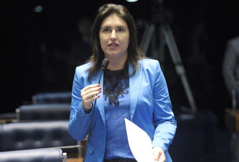 Simone Tebet diz que disputará indicação à presidência do Senado