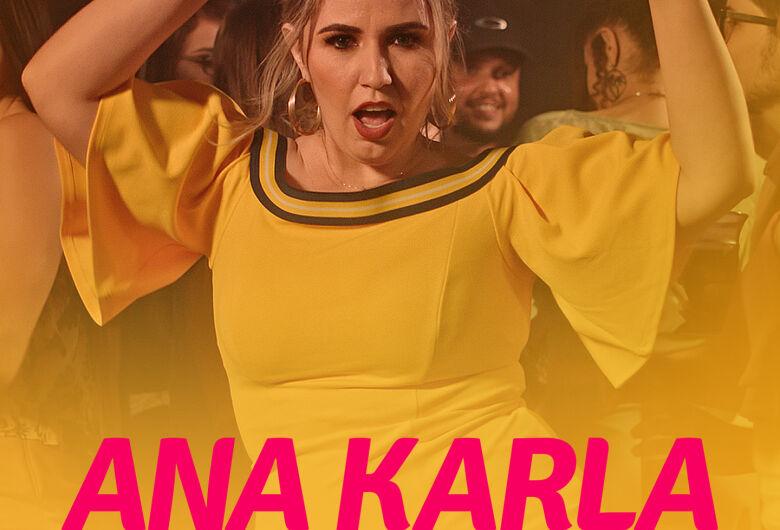 Ana Karla traz novo show para Dourados nesse fim de semana