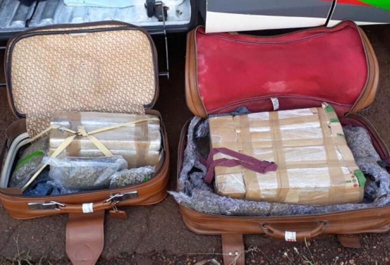 DOF prende homem em Dourados transportando droga em ônibus